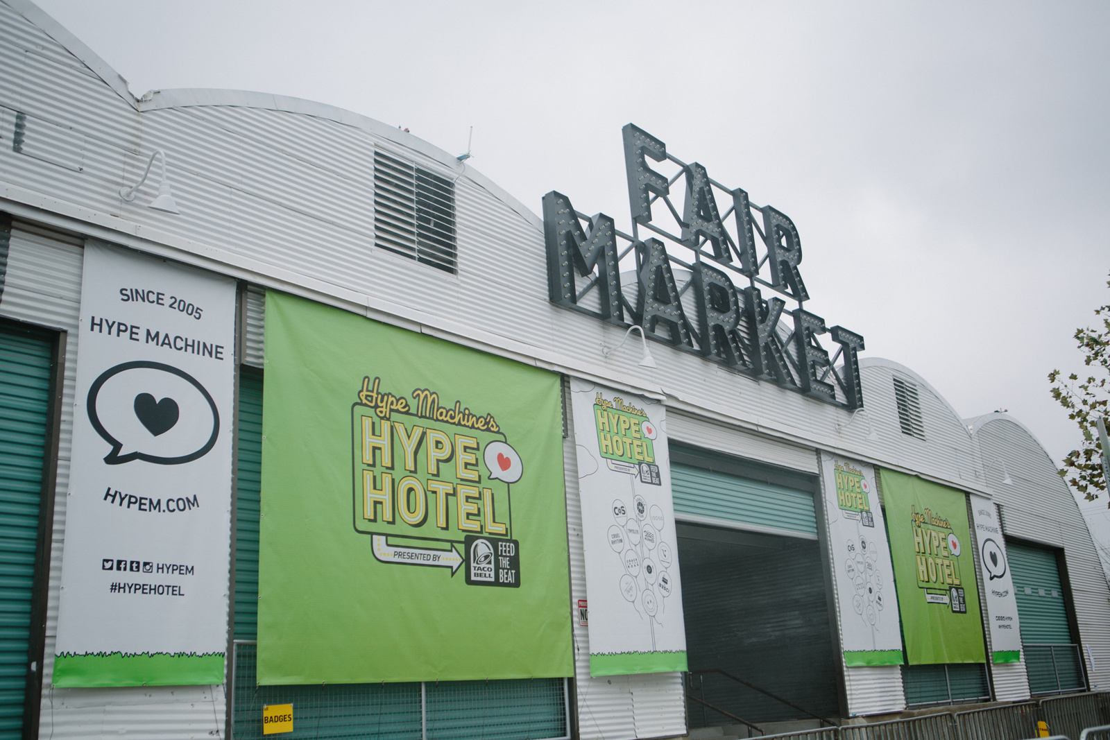 Hype Machine's Hype Hotel