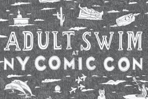 Adult Swim New York Comic Con Activations