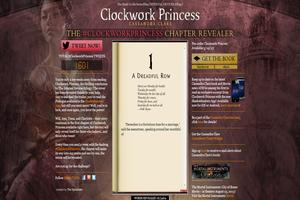 Simon & Schuster: Clockwork Princess Digital Campaign
