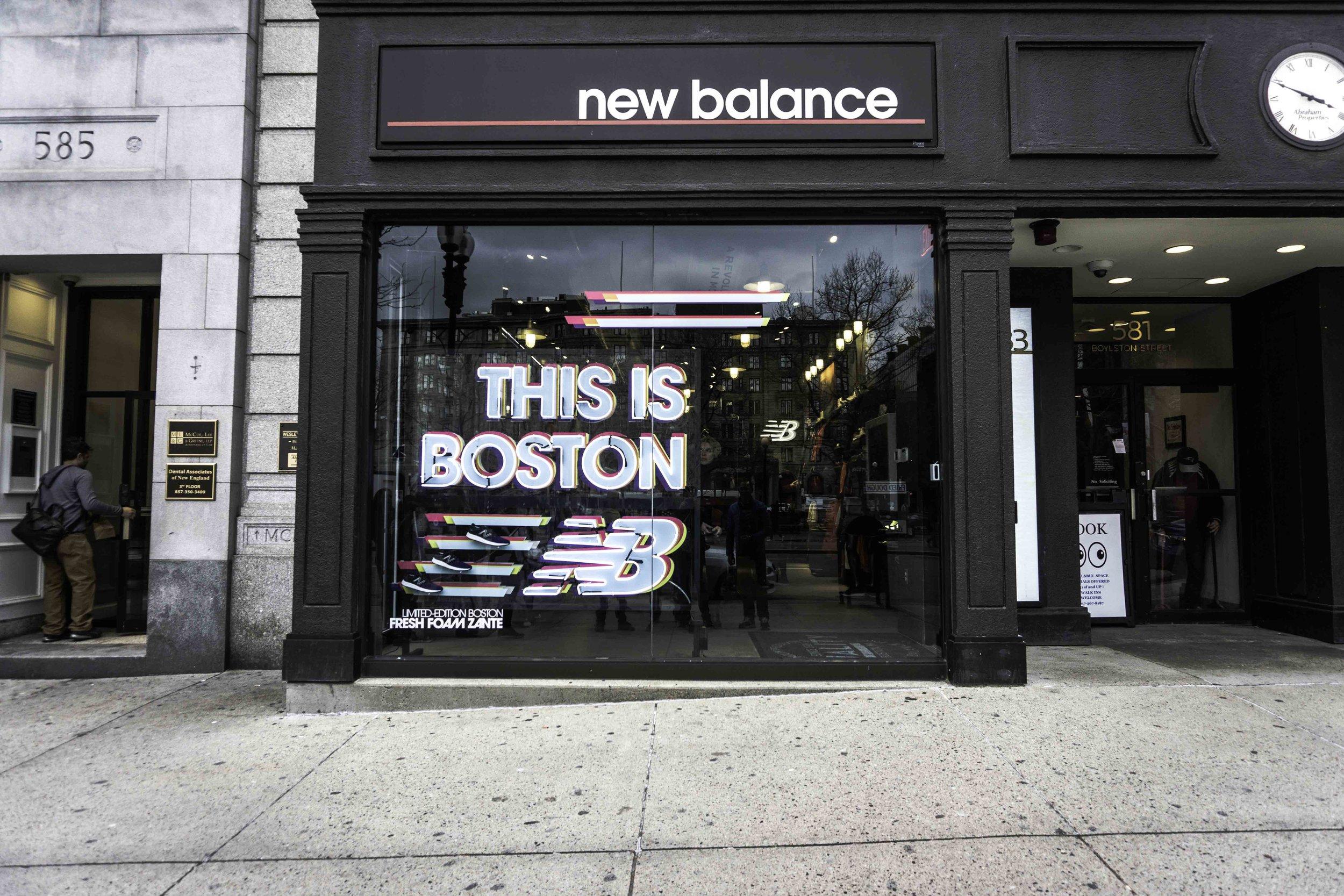 New Balance Boylston - Buildout by Upshot