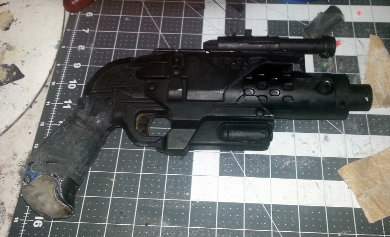 Handle modified and scope in place.  Partially primed.