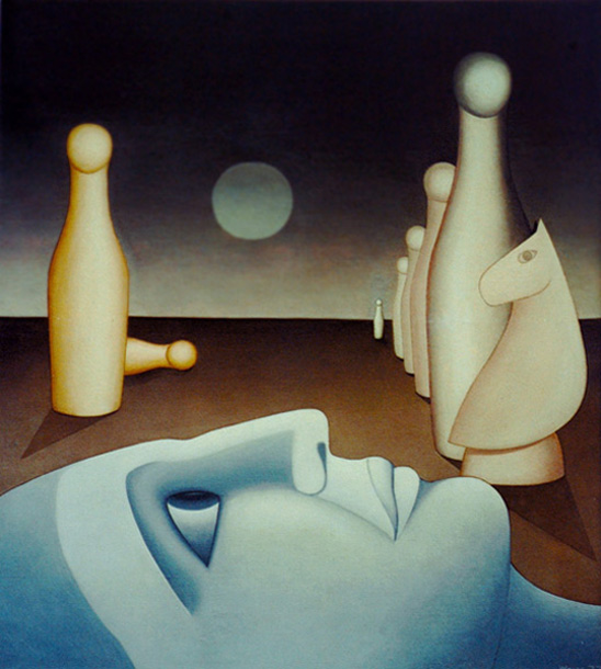 Abendländische Visionen   by Ladislaus Weiss