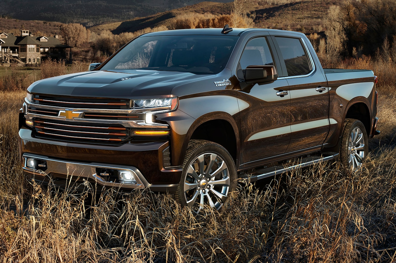 The all new Chevy Silverado , the official truck of real people.
