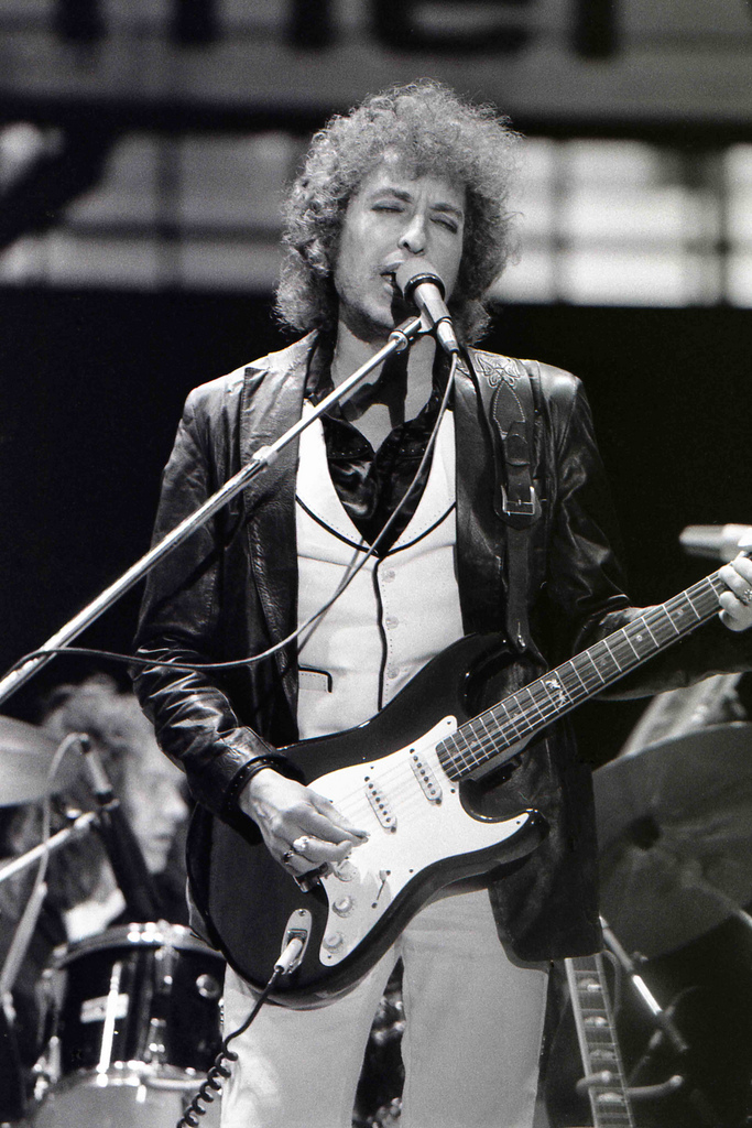 Bob Dylan in Rotterdam, Netherlands, June 1978