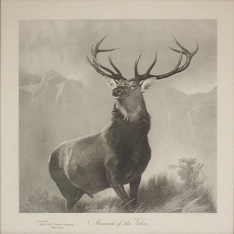The Monarch of the Glen by Edwin Landseer