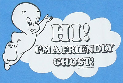 Imaginary friend  Casper the Friendly Ghost , relative to  Harold of the Purple Crayon .