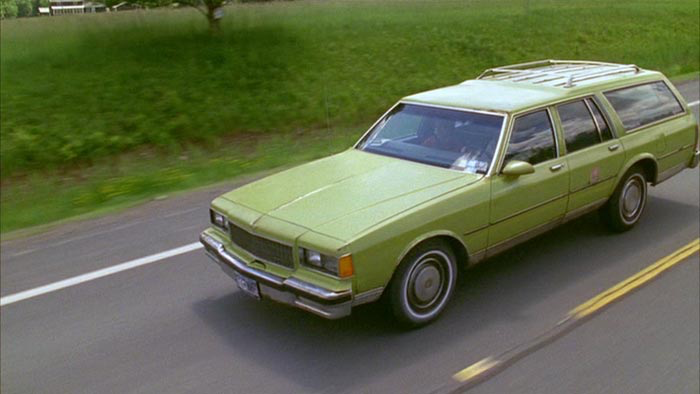 Green Chevy Caprice station wagon  (   image source   : IMDB page for  Transamerica )