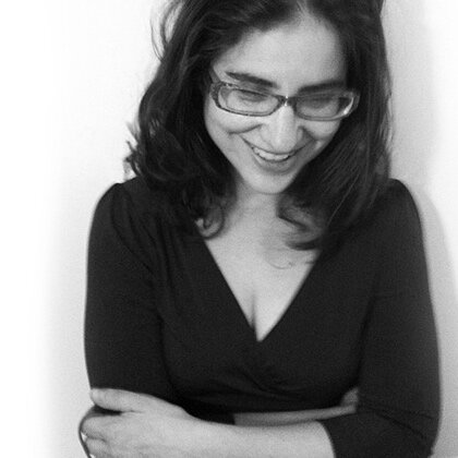 Lynn Melnick - is the author of the poetry collections Landscape with Sex and Violence (2017) and If I Should Say I Have Hope (2012), both with YesYes Books, and the co-editor of Please Excuse This Poem: 100 Poets for the Next Generation (Viking, 2015). Her poetry has appeared in APR, The New Republic, The New Yorker, The Paris Review, Poetry, and A Public Space, and her essays have appeared in LA Review of Books, ESPN, and the anthology Not That Bad: Dispatches from Rape Culture. A former fellow at the New York Public Library's Cullman Center for Scholars and Writers and previously on the executive board of VIDA: Women in Literary Arts, she currently teaches poetry at Columbia University and the 92Y, and works with saferLIT. Born in Indianapolis, she grew up in Los Angeles and currently lives in Brooklyn.
