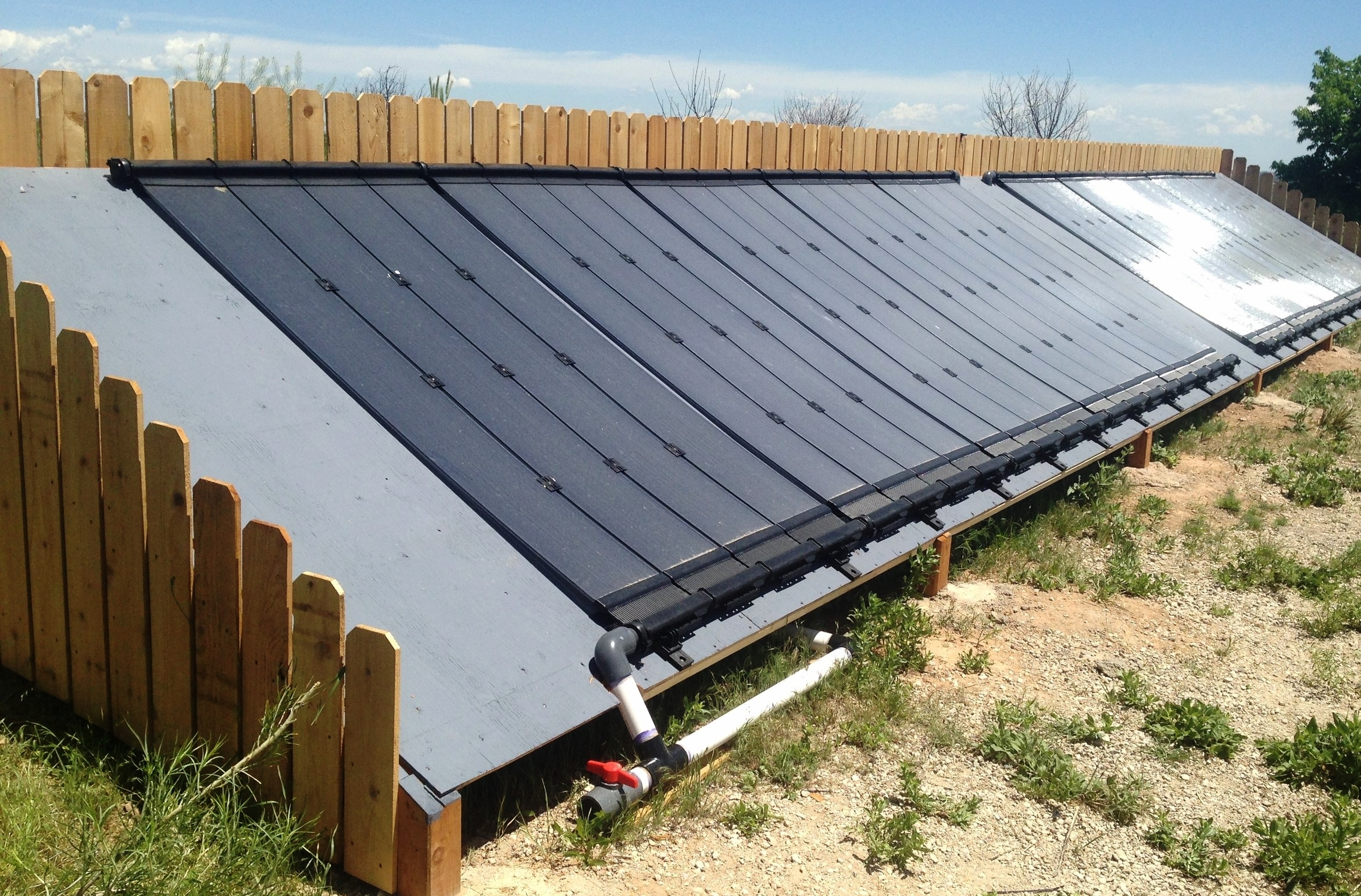 Solar thermal review and spa