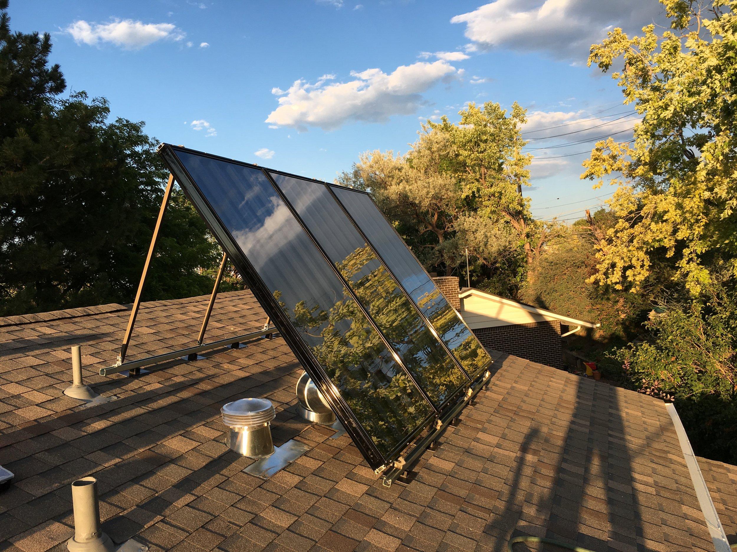 New Solar Air Panel