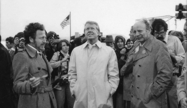 A photo of Boulder's very own Frank Kreith with Jimmy Carter (CU Dean of Engineering Bobby Braun / Courtesy Photo)
