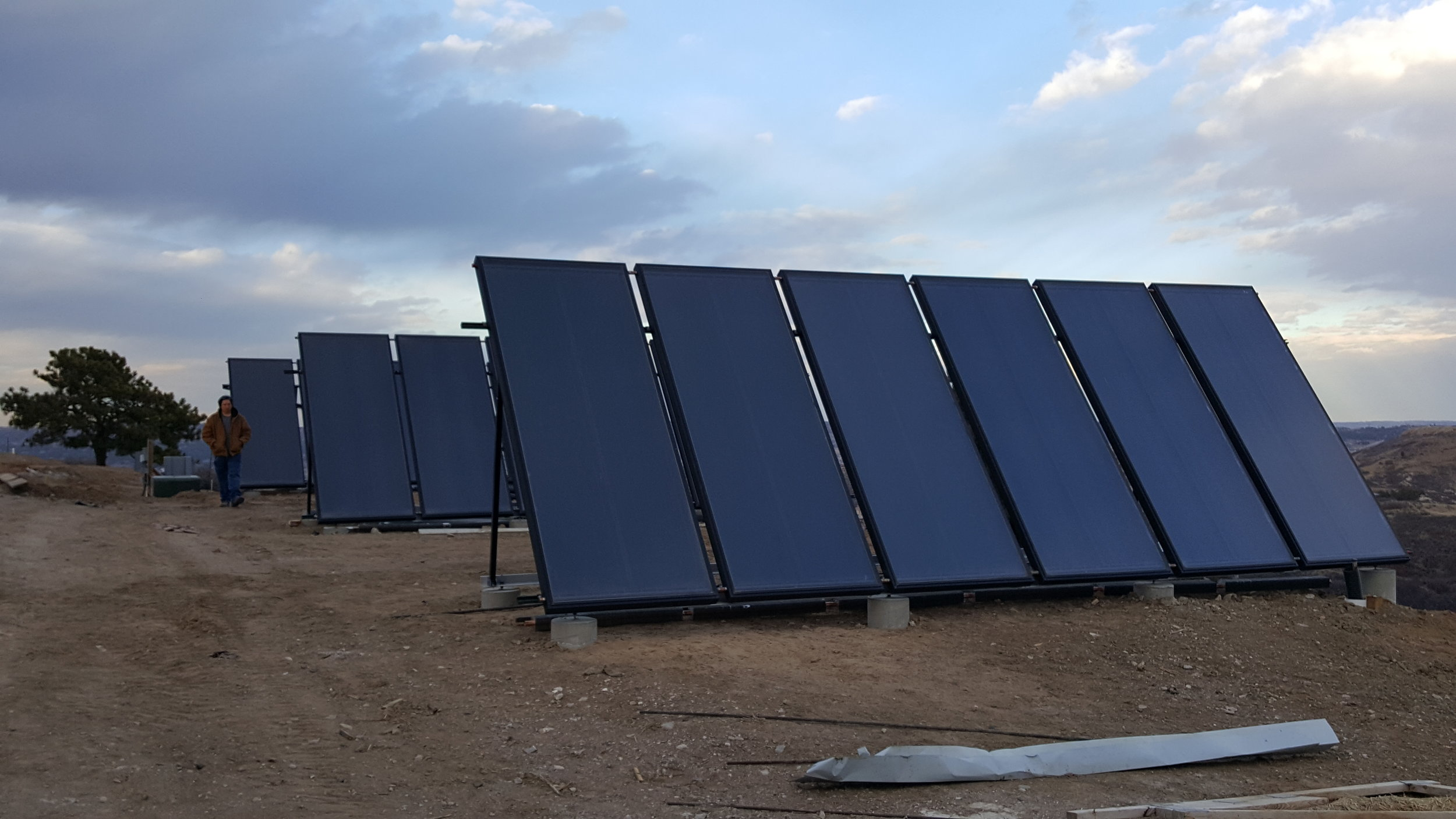 New Solar Thermal System Installed by Aqua Care Solar