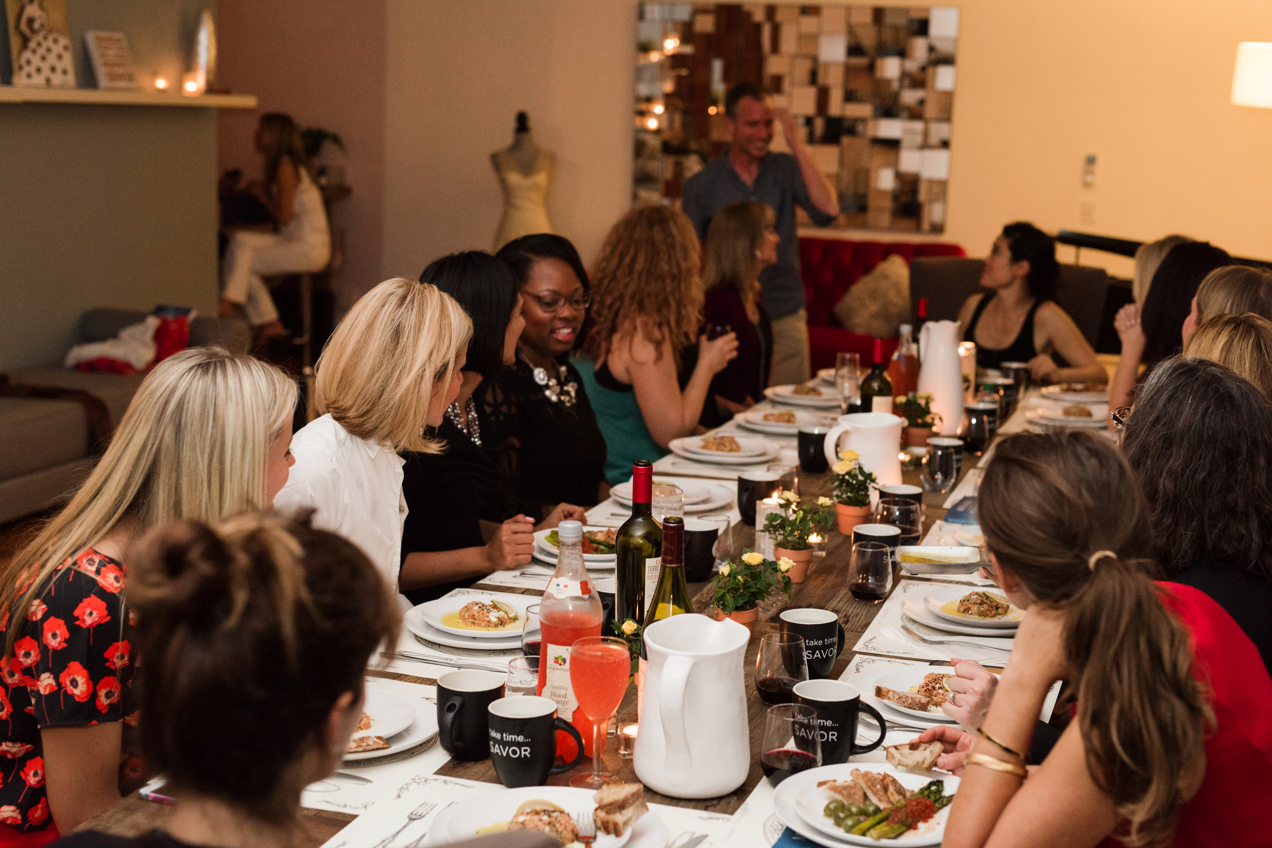 Our savor success circle president dinner party n 2016 in saugerties, ny.