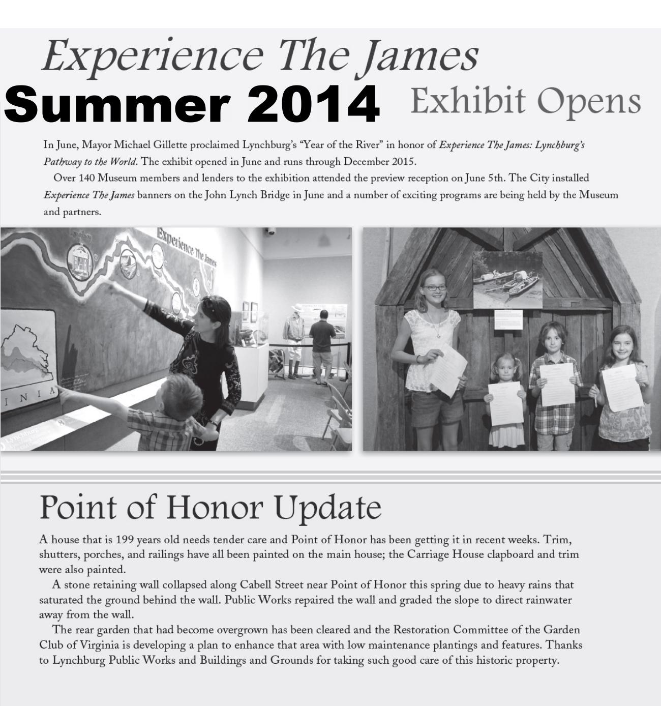 Muse News Summer 2014