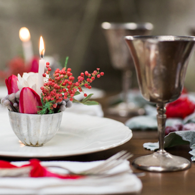 Rustic Winter Scandinavian Holiday