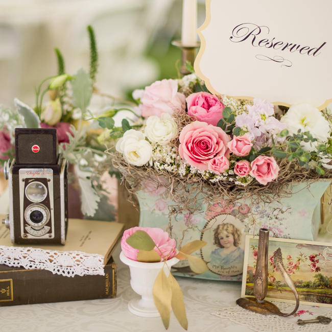 Collected + Layered Vintage Romance