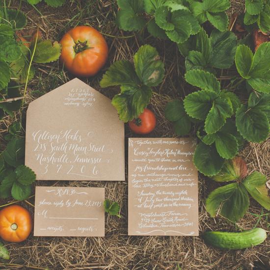 Summer Farm-to-Table Nashville Wedding