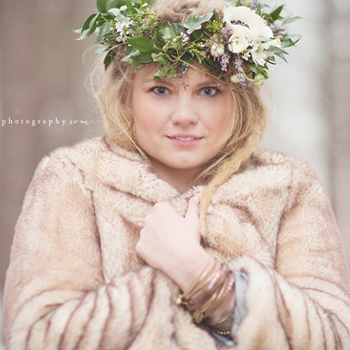 Magical Forest Winter Wedding in the Snow