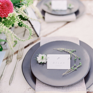 Refined Modern Rustic Wedding Inspiration