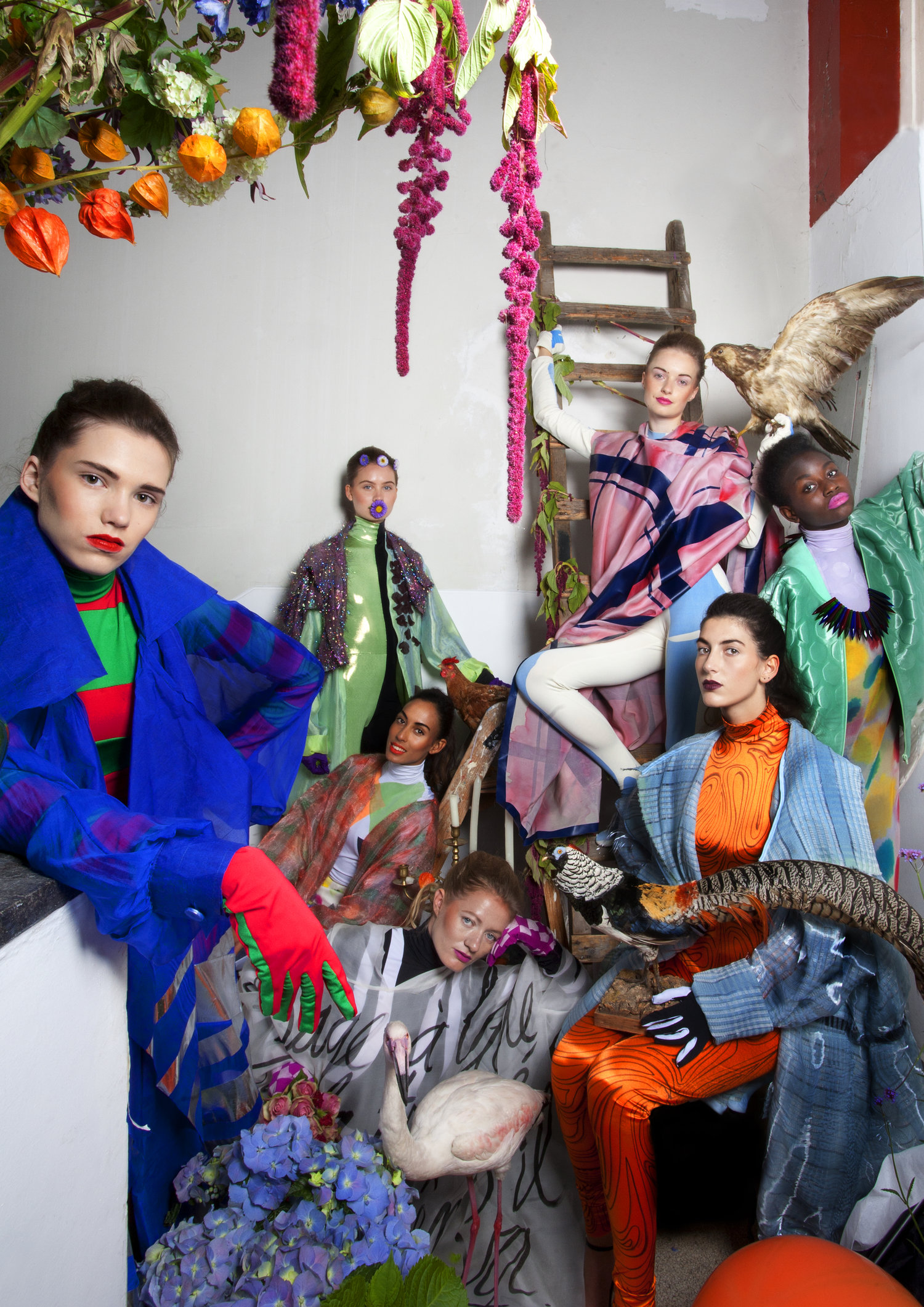 F/W 2014 –Afternoon Of A Replicant  Photo: Peter Stigter