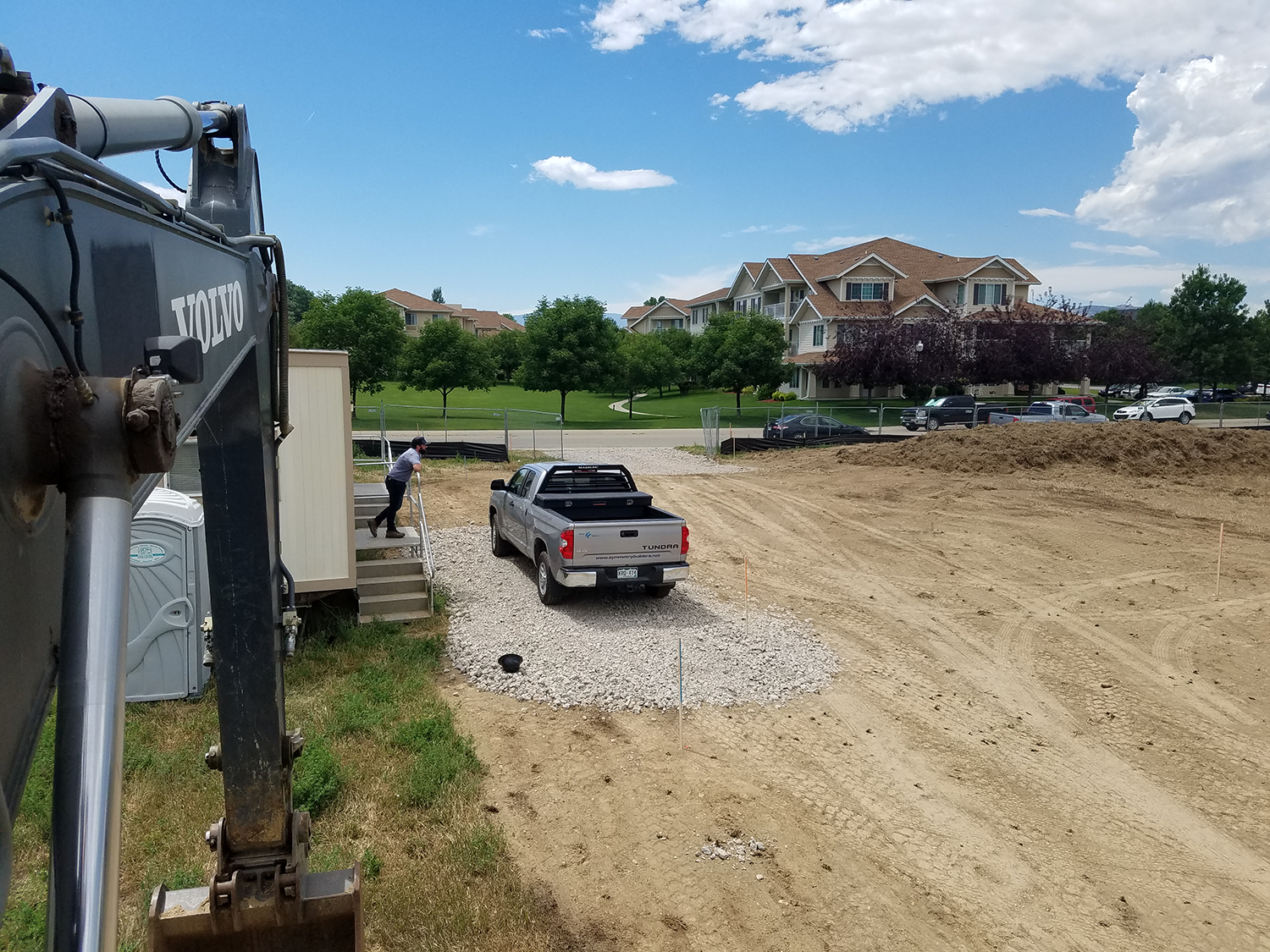 PROJECT DESCRIPTION - The Village Cooperative of Loveland broke ground on July 8th, 2019. This project includes the construction of new, 3-story, 58-unit, multi-family building with a parking structure below grade. It is slated for 14 months of construction.