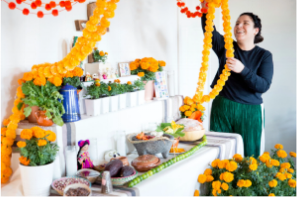 Cindy Pedraza Puente, who co-owns CocoAndré, a Mexican chocolatier that creates artisanal chocolates for the Day of the Dead in Dallas, said that not everyone in their community embraces the tradition wholeheartedly.