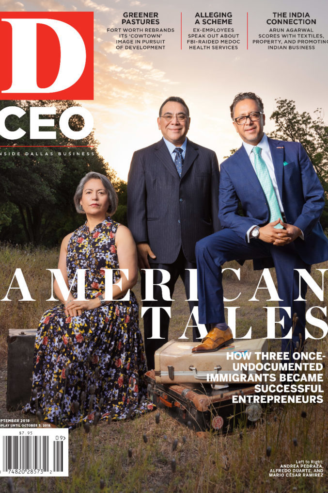 Chocolatera Andrea featured in  DMagazine  for her journey from employee to owner and turning a hardship into a vessel that now creates employees that empowered.   An American Tale:  Now sitting atop their own successful business ventures, three formerly undocumented immigrants are committed to spreading the wealth.  Un cuento estadounidense:  ahora sentados en la cima de sus propios negocios exitosos, tres inmigrantes que anteriormente eran indocumentados están comprometidos a difundir la riqueza