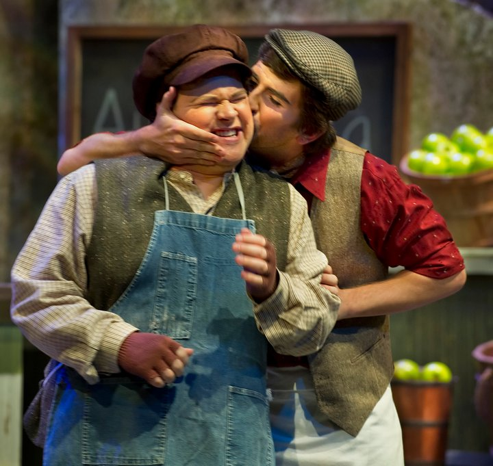 with Brendan Hartnett in Albert Herring, UC Santa Cruz 2011