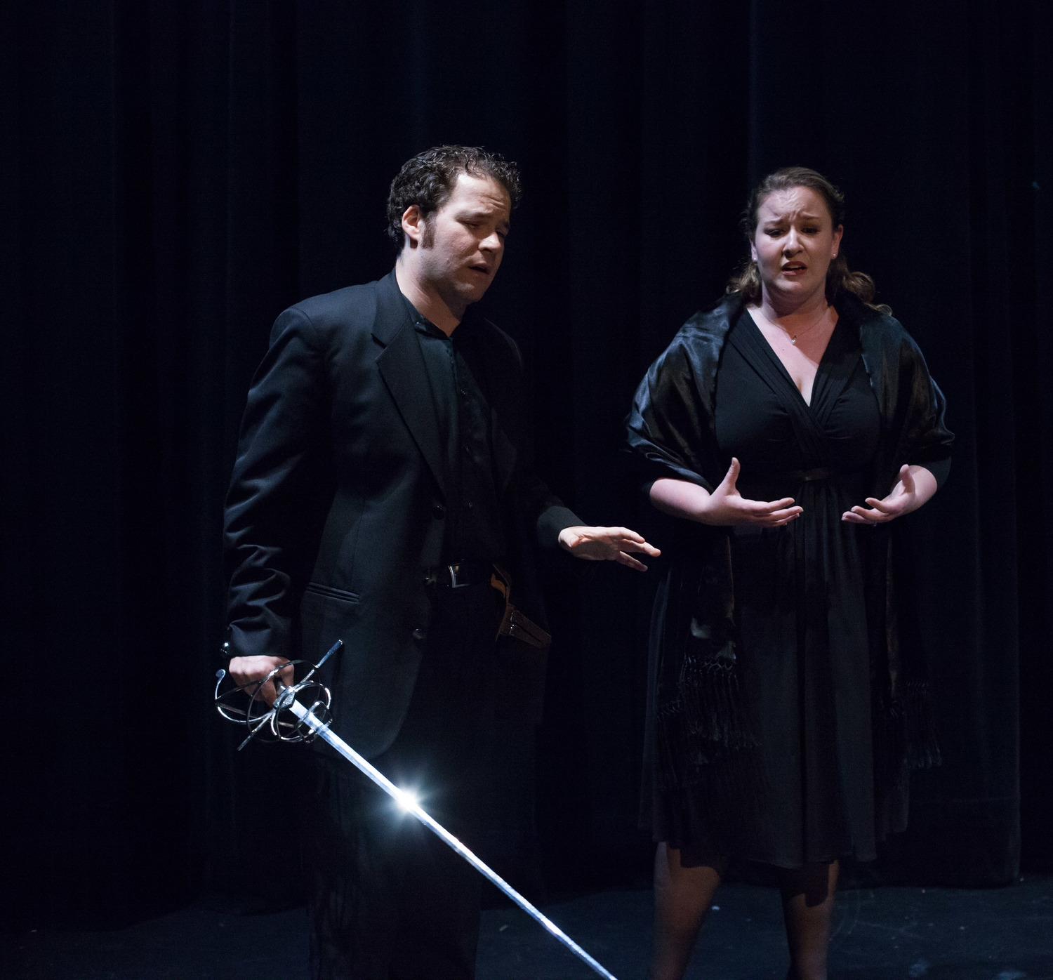 with Kelly Rubinsohn, Don Giovanni, Waffle Opera 2014    © 2014 Valentina Photography