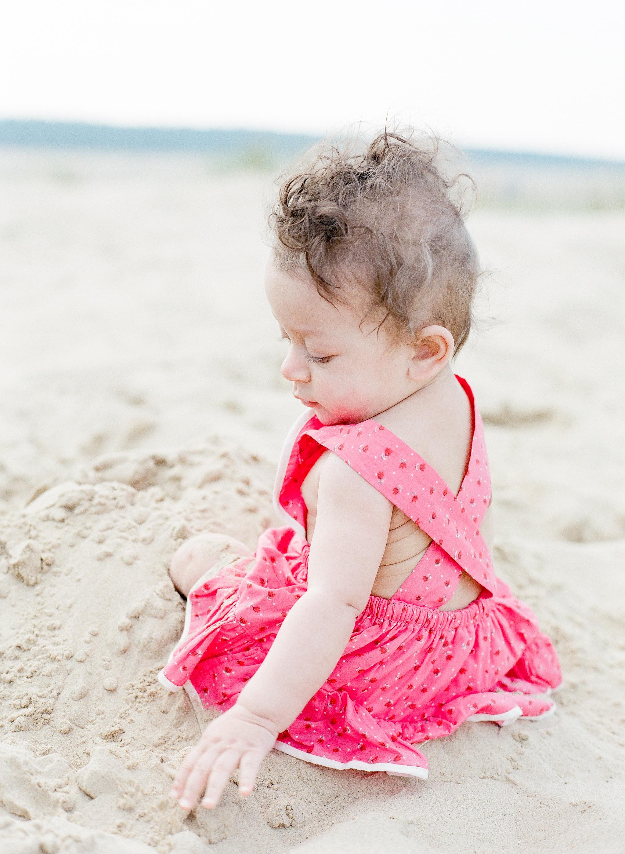 holkham beach baby