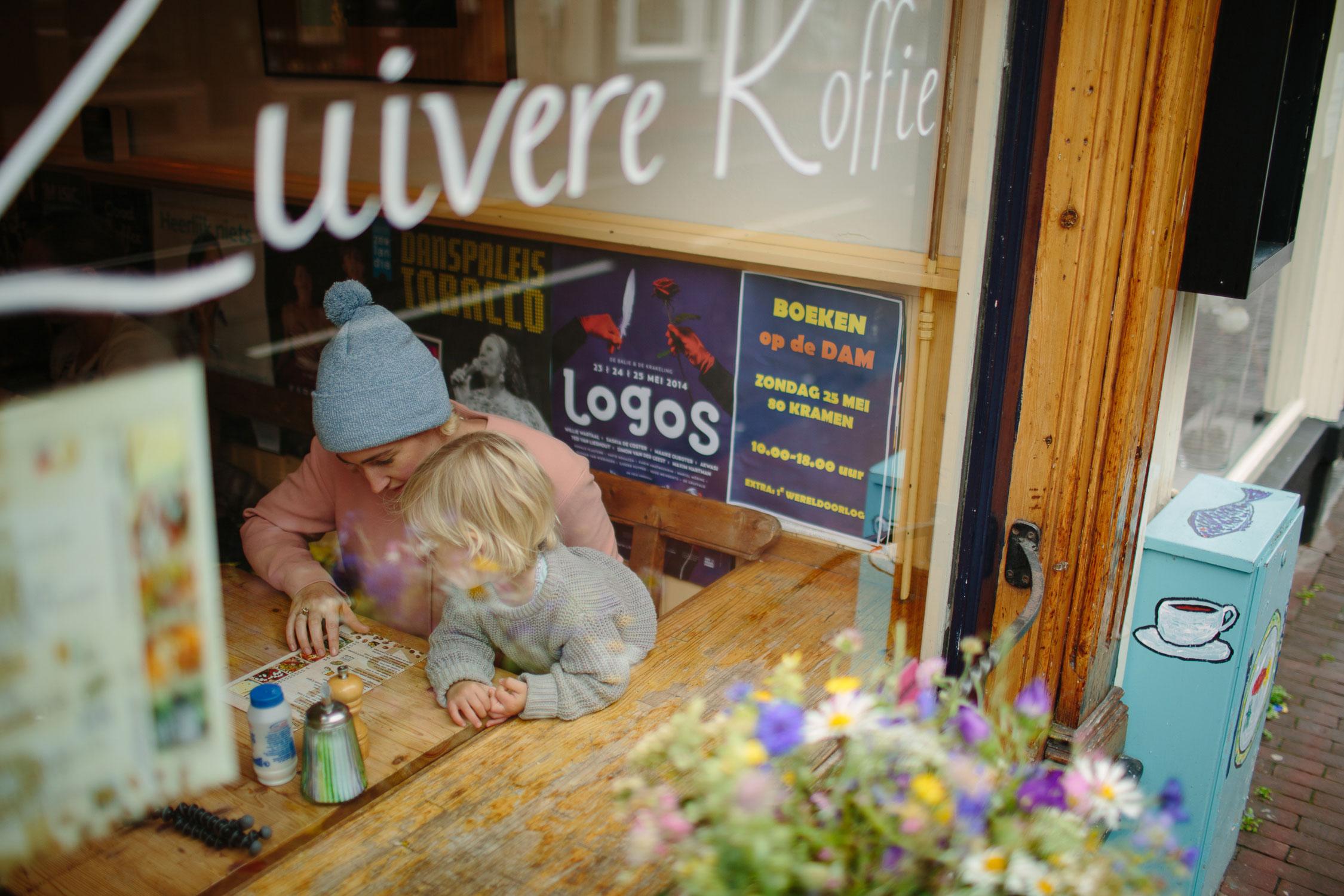 amsterdam cafe family travel