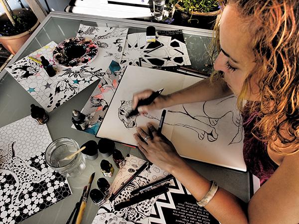 Nina Dogmetchi Imagination Illustrated