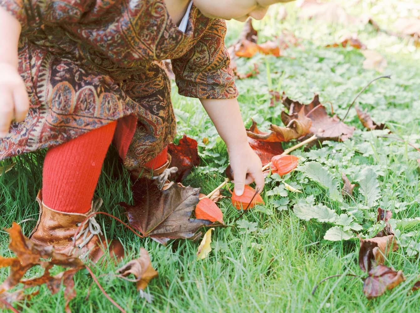 Autumn children's fashion