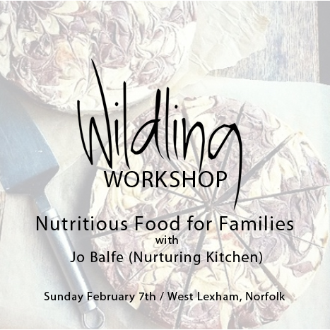 Wildling Workshop on Nutritious Food for Families