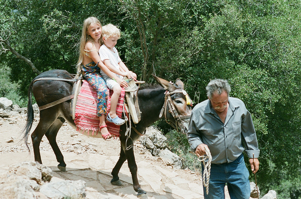 Crete family travel Oksana Bernold