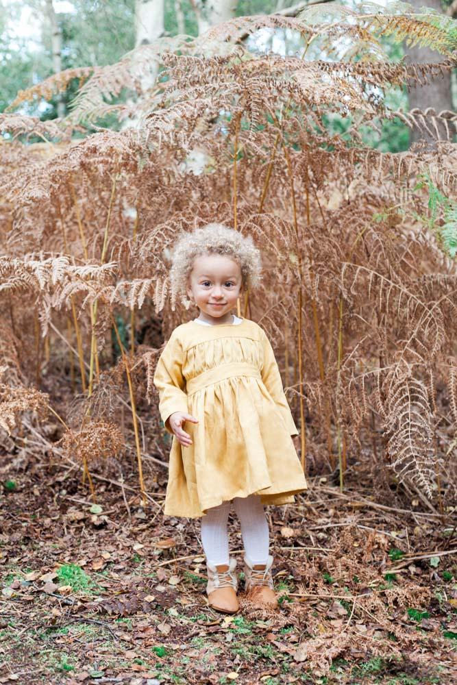 Princesse Au Petit Pois dress