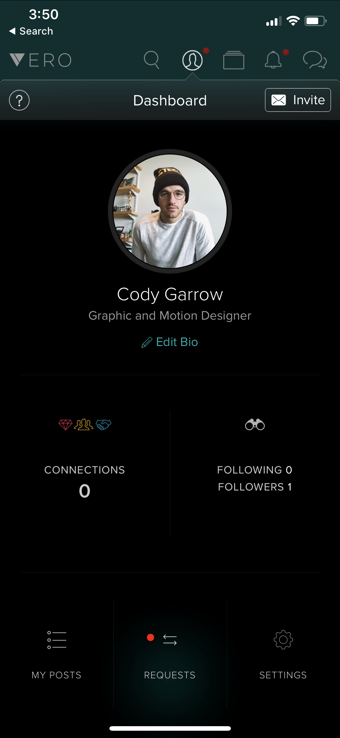 Vero Cody Garrow Profile