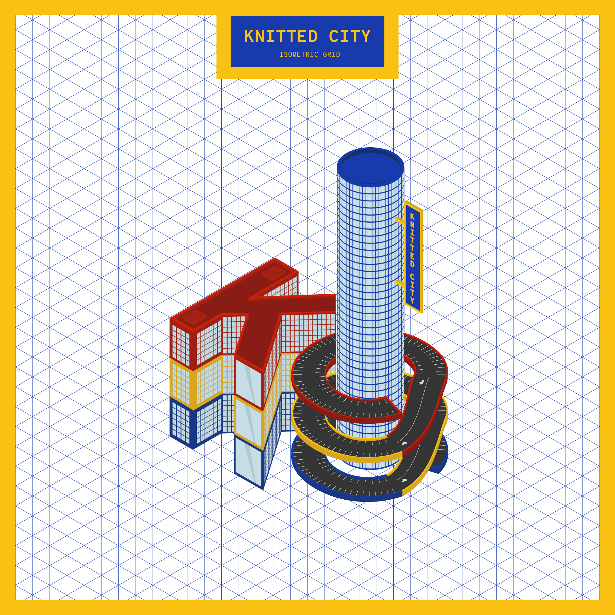 Knitted City Fake 3D Toolkit