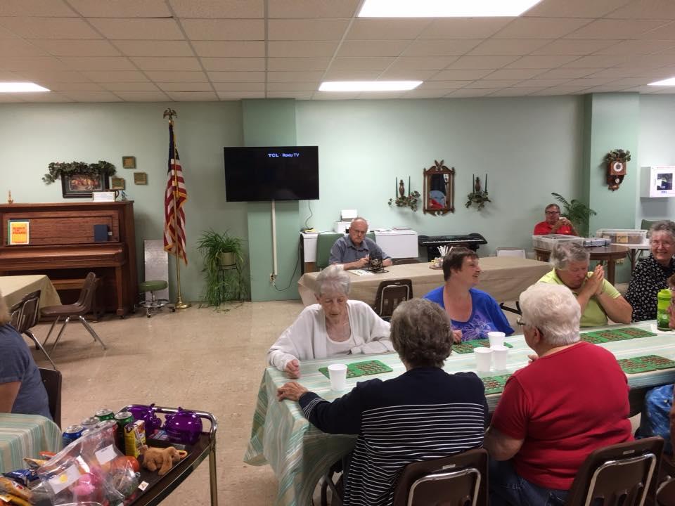 Bingo at Hebron Senior Center