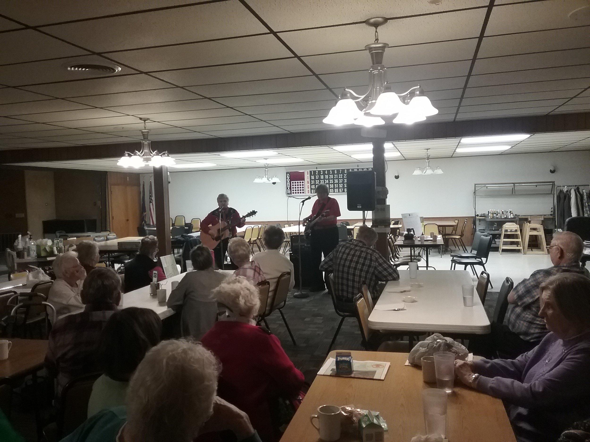 Entertainment at Wymore Senior Center
