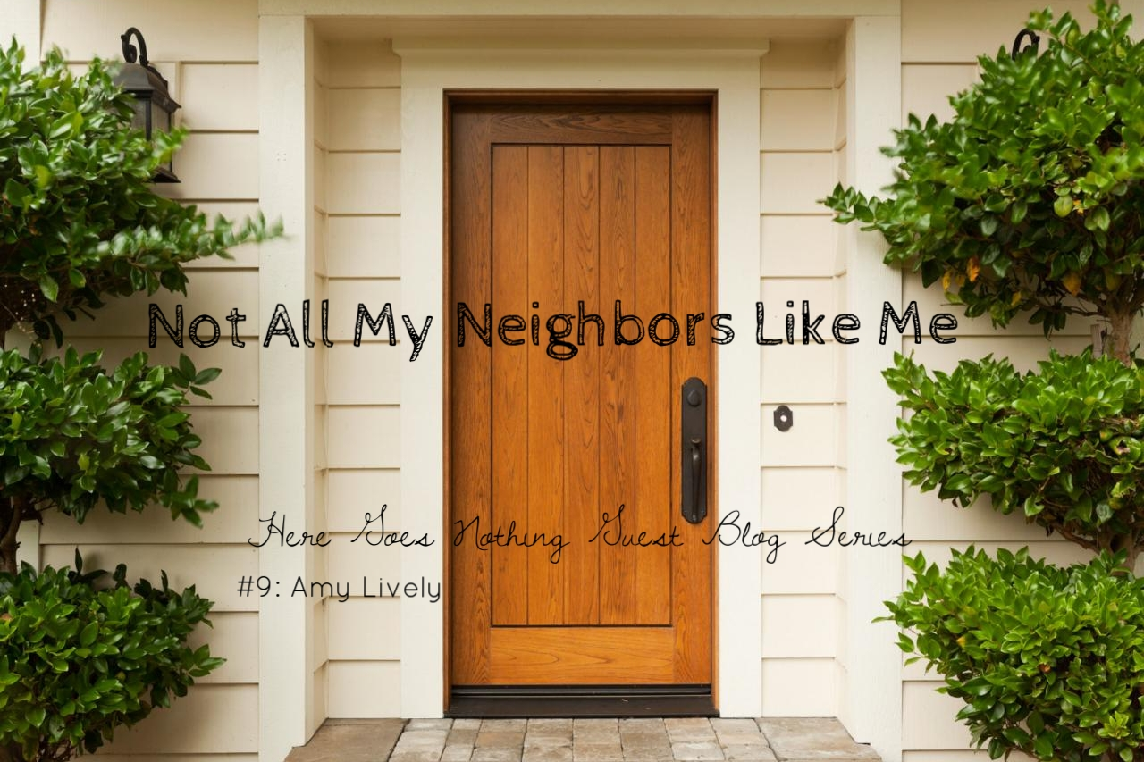 """{  This is the ninth of twelve in a guest blog series I am hosting through March. The series will zero in on a variety of themes from my book,   Here Goes Nothing: An Introvert's Reckless Attempt to Love Her Neighbor.   The writers of these posts are people I deeply admire for their wisdom and their constant seeking of Christ's Kingdom on behalf of their neighbors both near and far.    This particular post was written by Amy Lively, an extrovert through and through. I """"met"""" Amy when I was searching for authors to write endorsements for  Here Goes Nothing. Amy was crazy enough to list a phone number on her website, and then actually answer the phone when I called! Does that scream """"extrovert"""" or what?!    I have often been asked by other extroverts, """"So, how are we supposed to interact with you introverts?"""" And Amy has a lot of wonderful things to say on that topic today. Do you have an introvert in your life that you are not sure exactly how to love or get to know? Then this is a must read!}"""