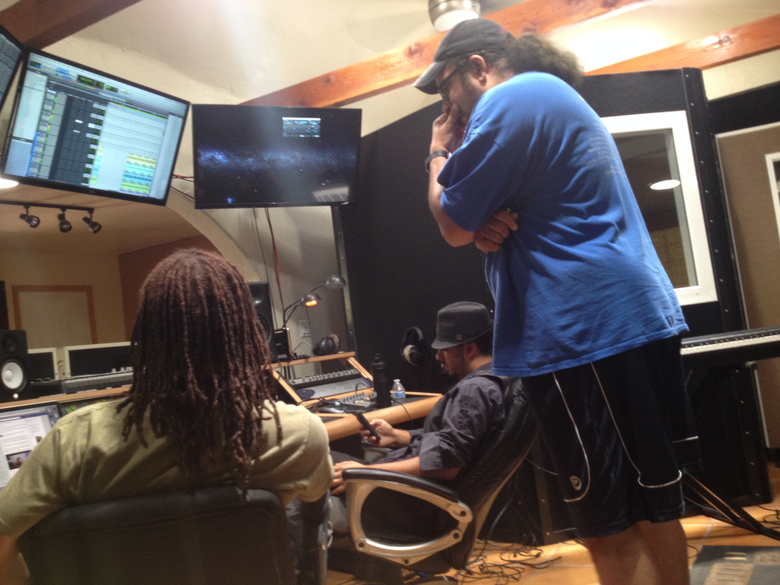 Tracking with Asa Watkins and the the Byrd man himself, Winston Byrd!