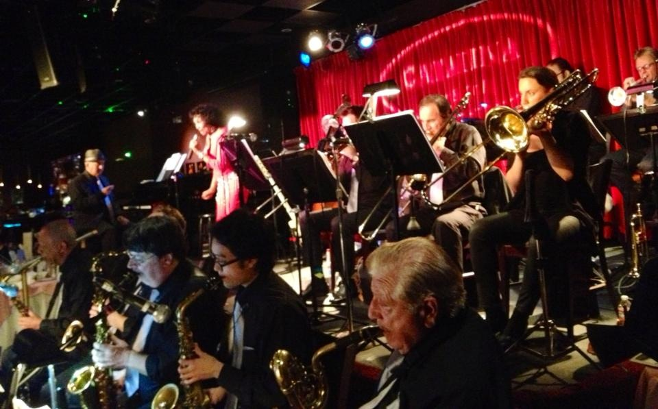 "At ""Catalina"" with the Peter Myers Orchestra"