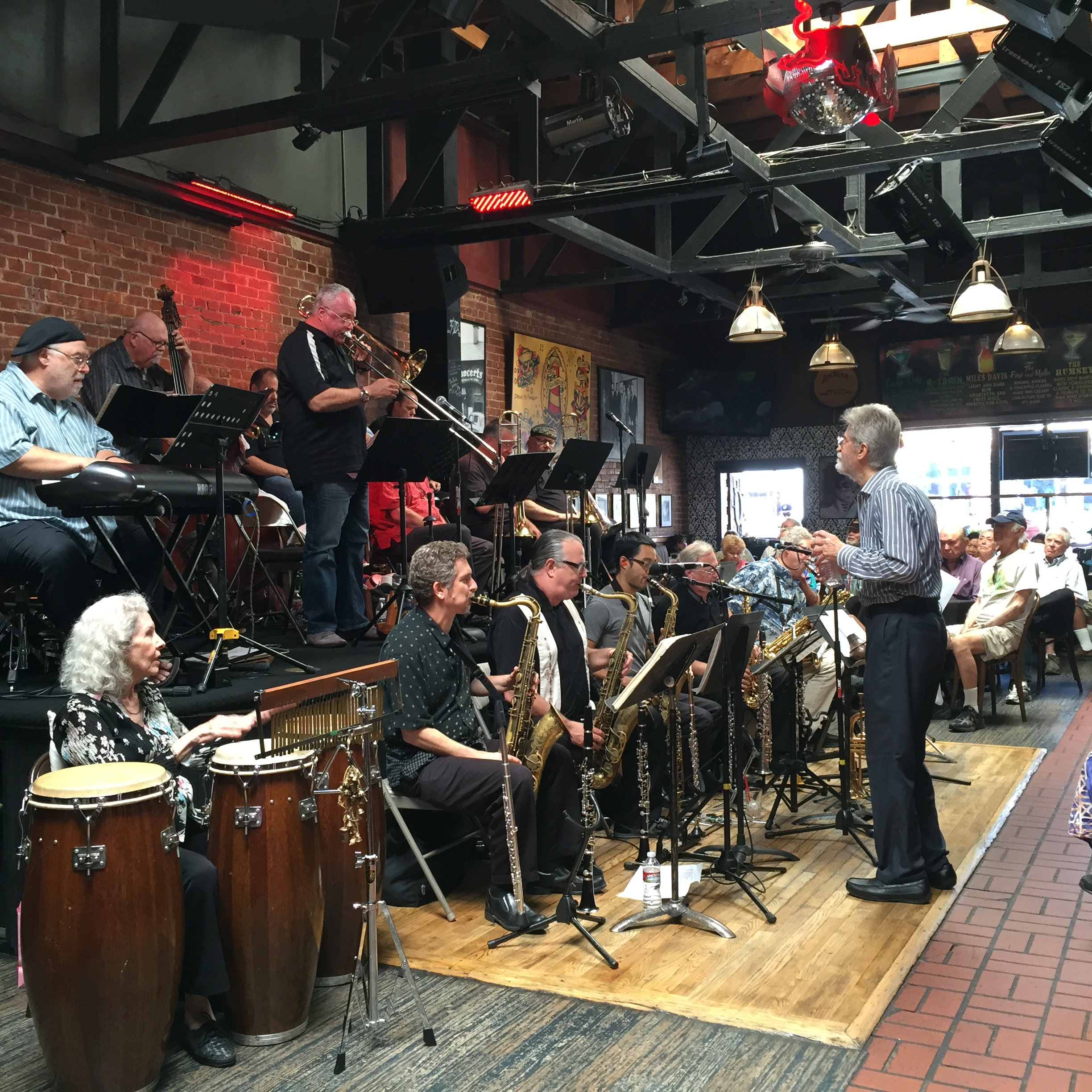 Steve Huffsteter Big Band at the world famous Lighthouse Cafe-Hermosa Beach, CA August 2015