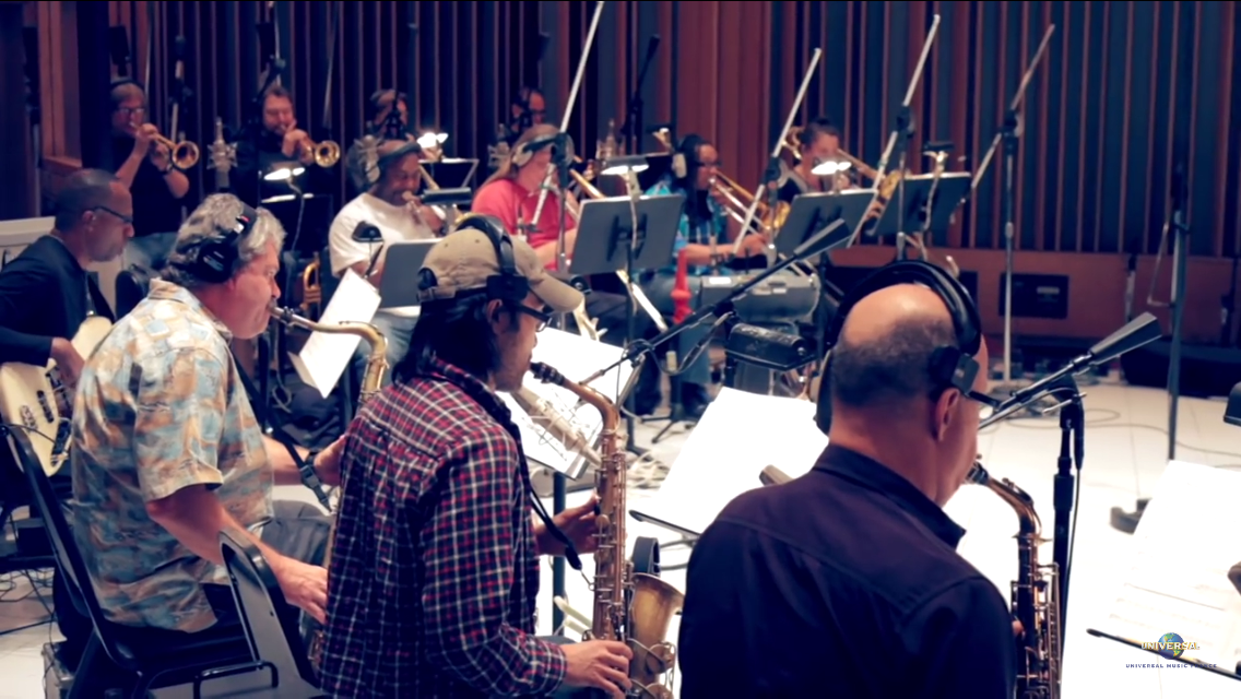 Eddy Mitchell Big Band Sessions at   Capitol Records - Hollywood, CA May 2015