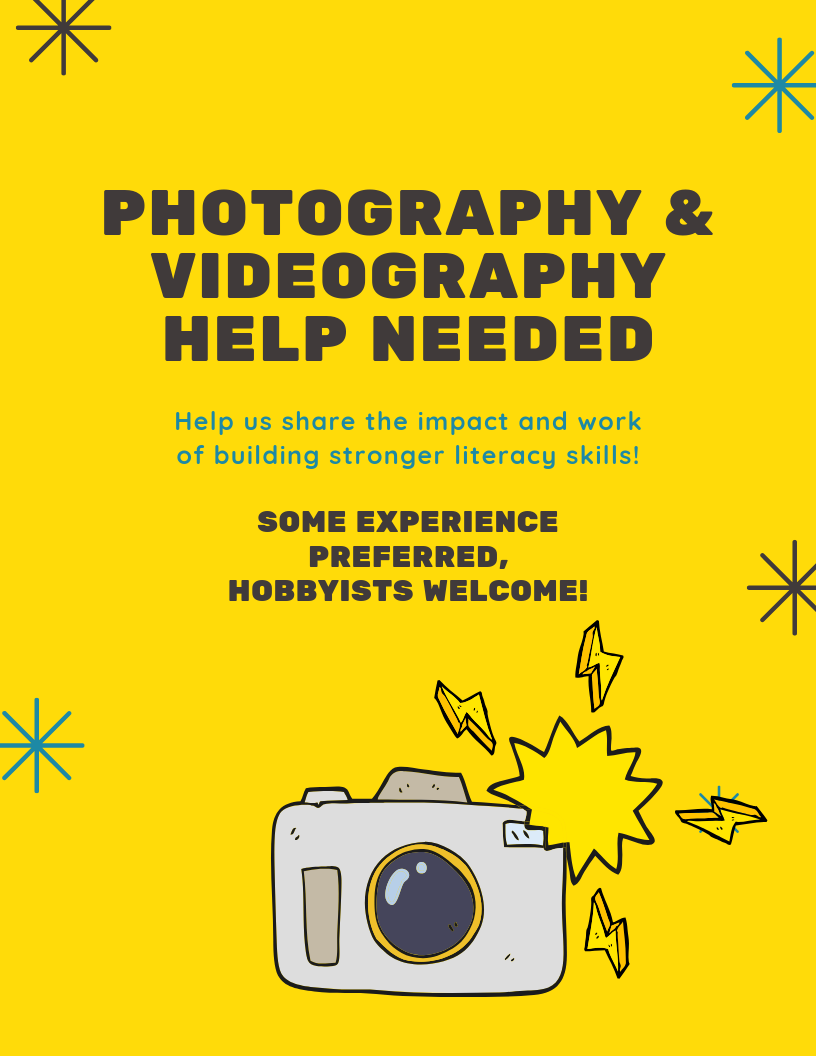 Photography & Videography Volunteers Needed.png