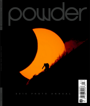 cover,   Powder Magazine    photo Annual January 2016