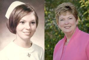 Owner Christine Hammerlund • Then and Now