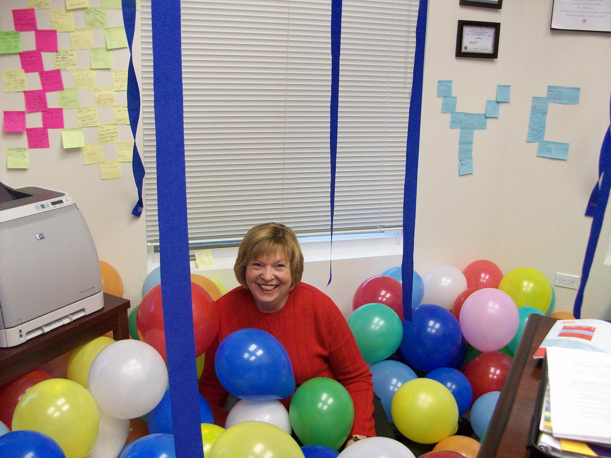 Birthday celebration for Chris