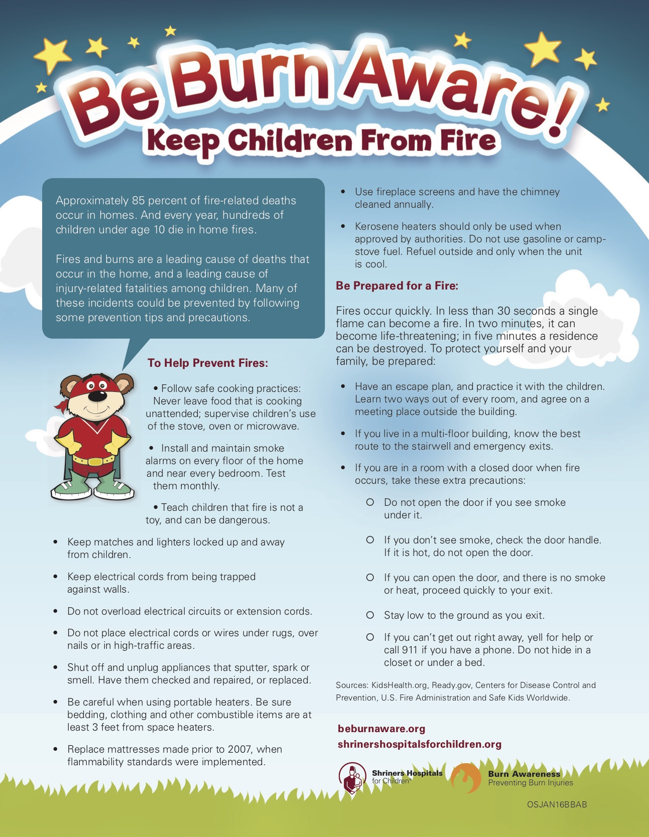 Download Fire Safety Tips